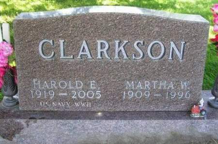 WILLIAMSON CLARKSON, MARTHA SARAH - Madison County, Iowa | MARTHA SARAH WILLIAMSON CLARKSON