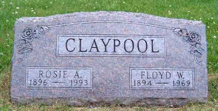 CLAYPOOL, ROSIE A. - Madison County, Iowa | ROSIE A. CLAYPOOL
