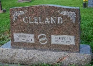 CLELAND, VIRGINIA MAY - Madison County, Iowa | VIRGINIA MAY CLELAND