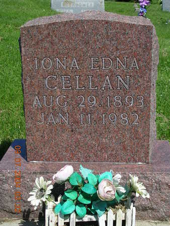 CELLAN, IONA EDNA - Madison County, Iowa | IONA EDNA CELLAN