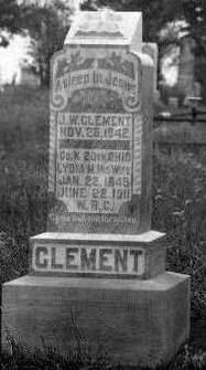 KERNS CLEMENT, LYDIA MATILDA - Madison County, Iowa | LYDIA MATILDA KERNS CLEMENT