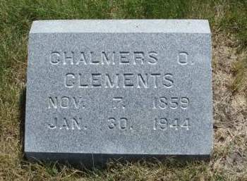 CLEMENTS, CHALMERS ORLANDO - Madison County, Iowa | CHALMERS ORLANDO CLEMENTS