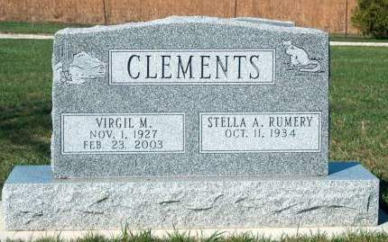 CLEMENTS, VIRGIL MELVIN - Madison County, Iowa | VIRGIL MELVIN CLEMENTS