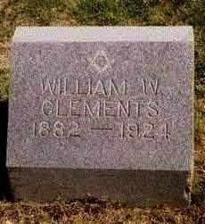 CLEMENTS, WILLIAM WARDER - Madison County, Iowa | WILLIAM WARDER CLEMENTS