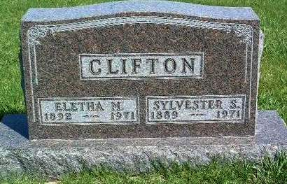 CLIFTON, ELETHA MYRA - Madison County, Iowa | ELETHA MYRA CLIFTON