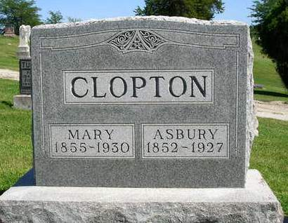 CLOPTON, MARY ISABELLE - Madison County, Iowa | MARY ISABELLE CLOPTON