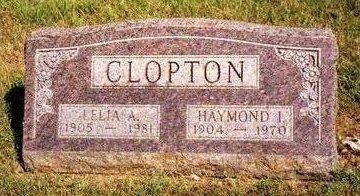 CLOPTON, HAYMOND ISAAC - Madison County, Iowa | HAYMOND ISAAC CLOPTON