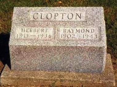 CLOPTON, RAYMOND ALBERT - Madison County, Iowa | RAYMOND ALBERT CLOPTON