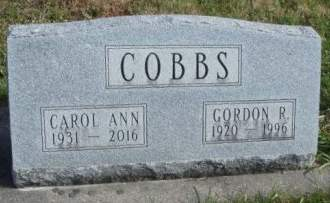 COBBS, CAROL ANN - Madison County, Iowa | CAROL ANN COBBS