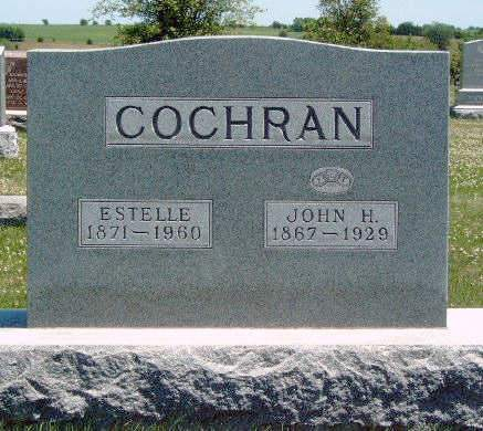 COCHRAN, ESTELLA H. - Madison County, Iowa | ESTELLA H. COCHRAN