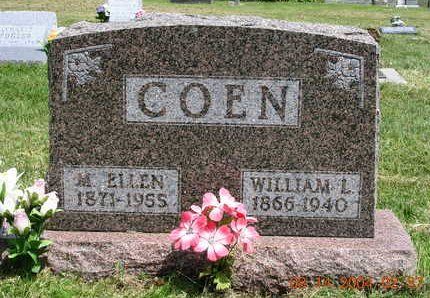 COEN, WILLIAM LEE - Madison County, Iowa | WILLIAM LEE COEN