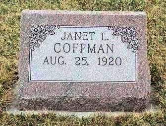 COFFMAN, JANET L. - Madison County, Iowa | JANET L. COFFMAN