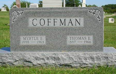COFFMAN, THOMAS ELMER - Madison County, Iowa | THOMAS ELMER COFFMAN