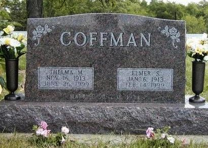 COFFMAN, THELMA MAE - Madison County, Iowa | THELMA MAE COFFMAN