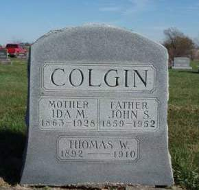 COLGIN, THOMAS W. - Madison County, Iowa | THOMAS W. COLGIN
