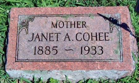 COHEE, JANET AMELIA - Madison County, Iowa | JANET AMELIA COHEE