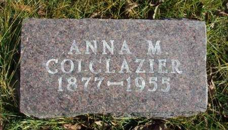 COLCLAZIER, ANNA MARGARET - Madison County, Iowa | ANNA MARGARET COLCLAZIER