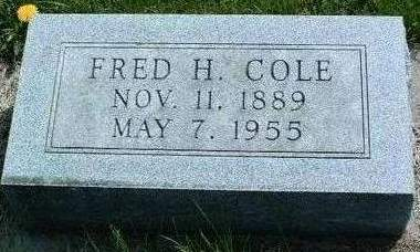 COLE, FRED HARRIS - Madison County, Iowa | FRED HARRIS COLE