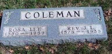LETTERMAN COLEMAN, ROSA LEE - Madison County, Iowa | ROSA LEE LETTERMAN COLEMAN