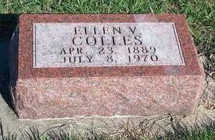 COLLES, ELLEN V. - Madison County, Iowa | ELLEN V. COLLES