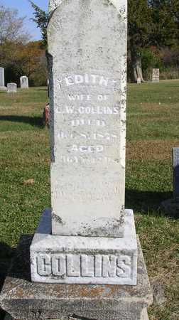 COLLINS, EDITH - Madison County, Iowa | EDITH COLLINS