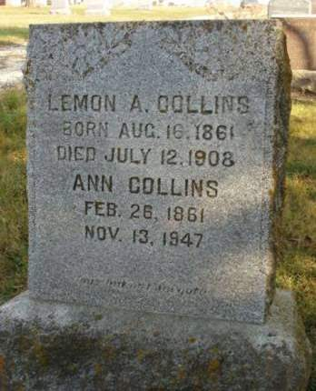 BLACK COLLINS, ANN - Madison County, Iowa | ANN BLACK COLLINS