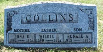 COLLINS, EDNA EUNICE - Madison County, Iowa | EDNA EUNICE COLLINS