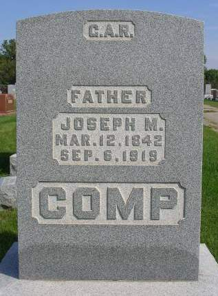 COMP, JOSEPH M. - Madison County, Iowa | JOSEPH M. COMP