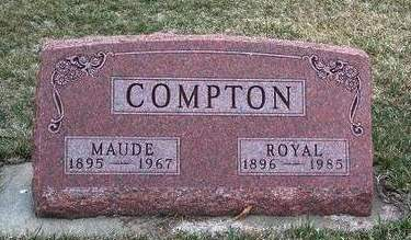 COMPTON, MAUDE M. - Madison County, Iowa | MAUDE M. COMPTON
