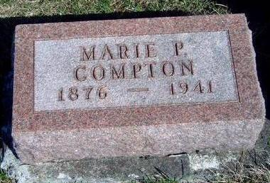 PETERSON COMPTON, MARIE PAULINE - Madison County, Iowa | MARIE PAULINE PETERSON COMPTON