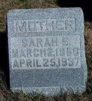 COMPTON, SARAH ELIZABETH - Madison County, Iowa | SARAH ELIZABETH COMPTON