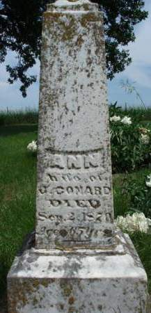 CONARD, ANNA - Madison County, Iowa | ANNA CONARD
