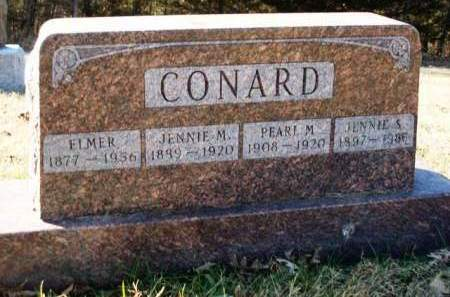 CONARD, PEARL MARY - Madison County, Iowa | PEARL MARY CONARD