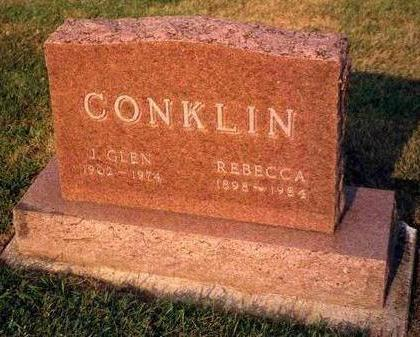 CONKLIN, JAMES GLEN - Madison County, Iowa | JAMES GLEN CONKLIN