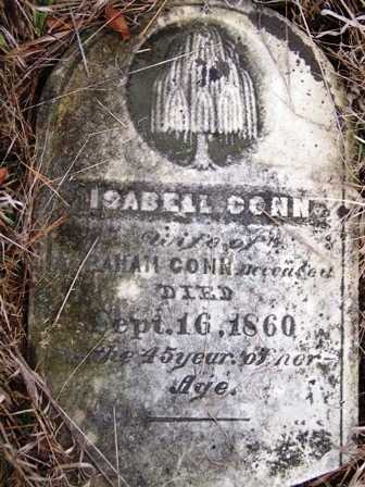 CONN, ISABELL - Madison County, Iowa | ISABELL CONN