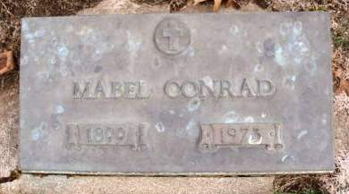 GORDON CONRAD, MABEL ALICE - Madison County, Iowa | MABEL ALICE GORDON CONRAD