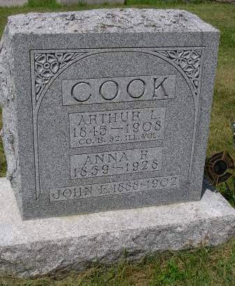 COOK, ARTHUR LEWIS - Madison County, Iowa | ARTHUR LEWIS COOK