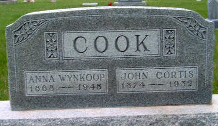 COOK, JOHN CORTIS - Madison County, Iowa | JOHN CORTIS COOK