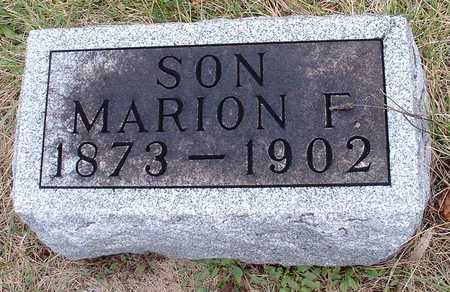 COOK, MARION F. - Madison County, Iowa | MARION F. COOK