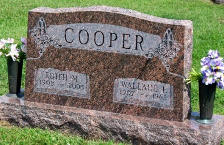 COOPER, EDITH MARGARET - Madison County, Iowa | EDITH MARGARET COOPER