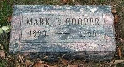 COOPER, MARK E. - Madison County, Iowa   MARK E. COOPER