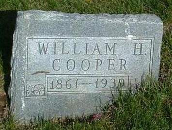COOPER, WILLIAM H. - Madison County, Iowa | WILLIAM H. COOPER