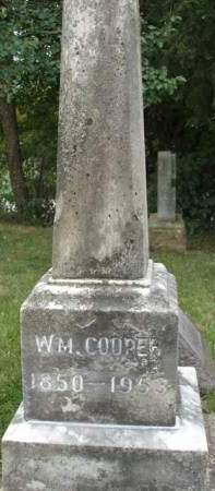 COOPER, WILLIAM L. MARTIN - Madison County, Iowa | WILLIAM L. MARTIN COOPER