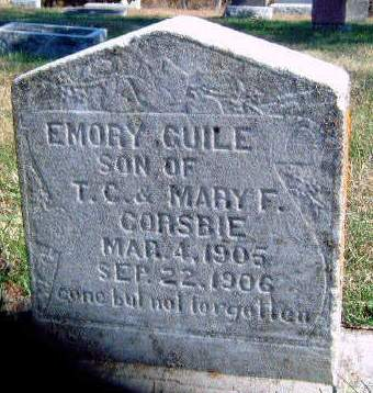 CORSBIE, EMORY GUILE - Madison County, Iowa | EMORY GUILE CORSBIE