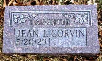 CORVIN, JEAN L. - Madison County, Iowa | JEAN L. CORVIN