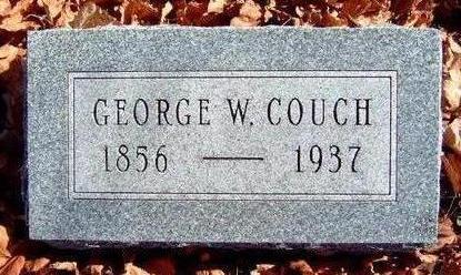 COUCH, GEORGE WASHINGTON - Madison County, Iowa | GEORGE WASHINGTON COUCH