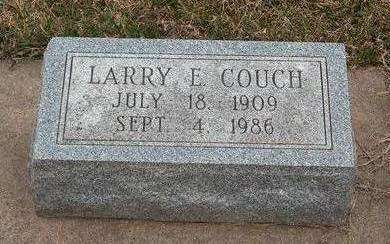 COUCH, LAWRENCE EARL - Madison County, Iowa | LAWRENCE EARL COUCH
