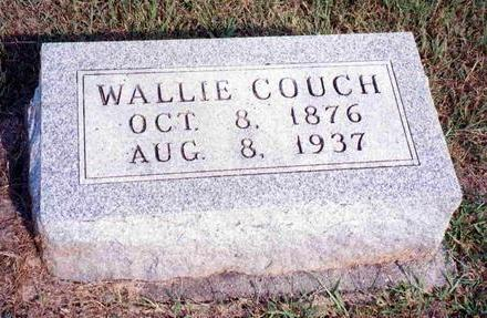 COUCH, WILLIAM WALLACE (WALLIE) - Madison County, Iowa | WILLIAM WALLACE (WALLIE) COUCH