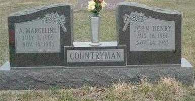 COUNTRYMAN, ALICE MARCELINE - Madison County, Iowa | ALICE MARCELINE COUNTRYMAN
