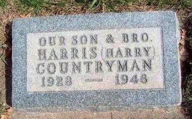 COUNTRYMAN, HARRIS DELBERT (HARRY) - Madison County, Iowa | HARRIS DELBERT (HARRY) COUNTRYMAN